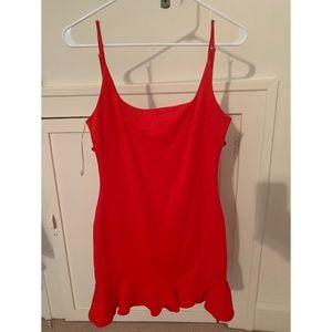 Meshki red mini dress